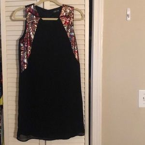 Fab'rik black and sequin design dress